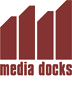 Logo von media docks